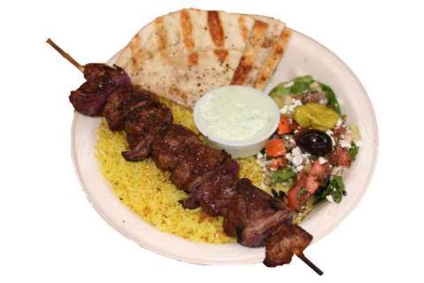 Shish kebab.  Stolen from http://www.mediterraneancafe-flatiron.com/images/shish.jpg
