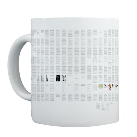 My dissertation, on a mug, for some reason.