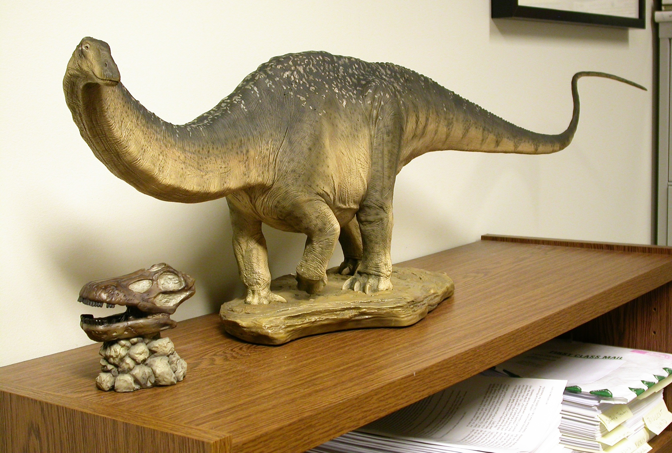 Sideshow Collectibles Apatosaurus Maquette Part 4 Body
