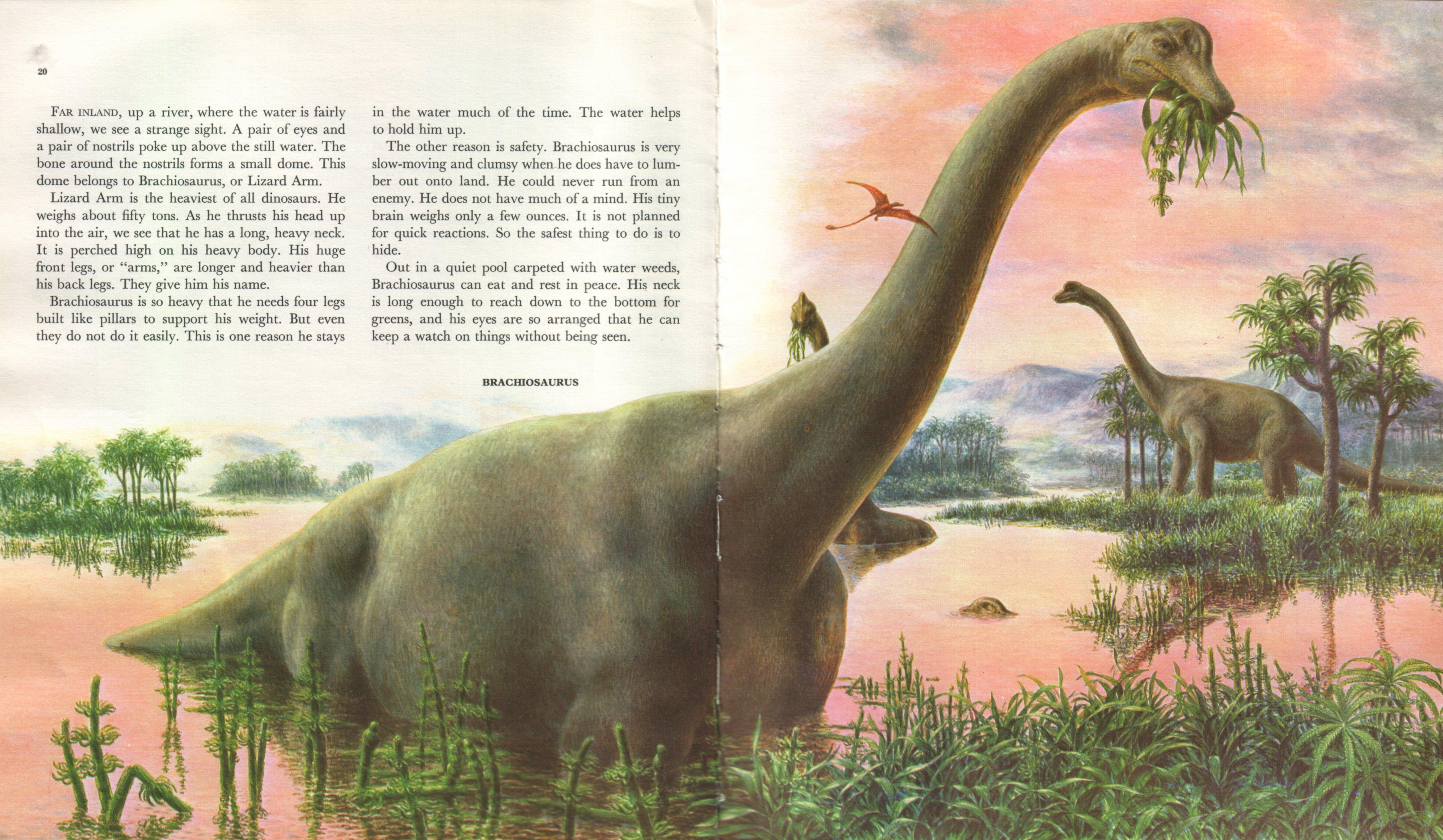 2000 AD's flagrantly plagiarised Brontosaurus | Sauropod ...