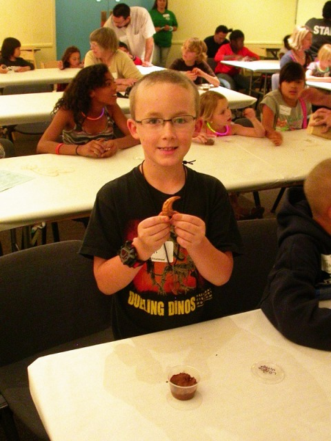 LACM dino camp 10  - molding and casting