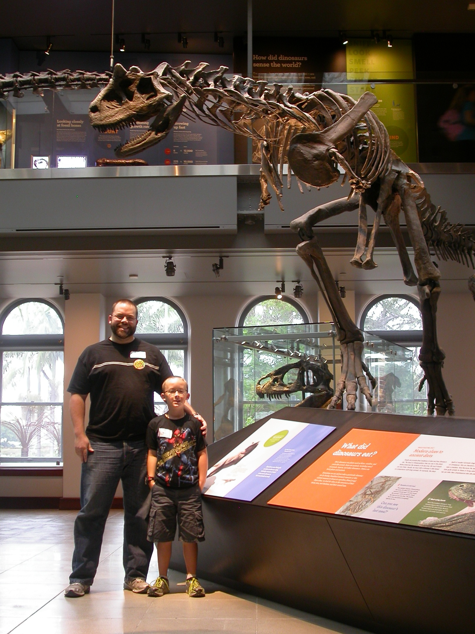 night at the museum  lacm u2019s camp dino