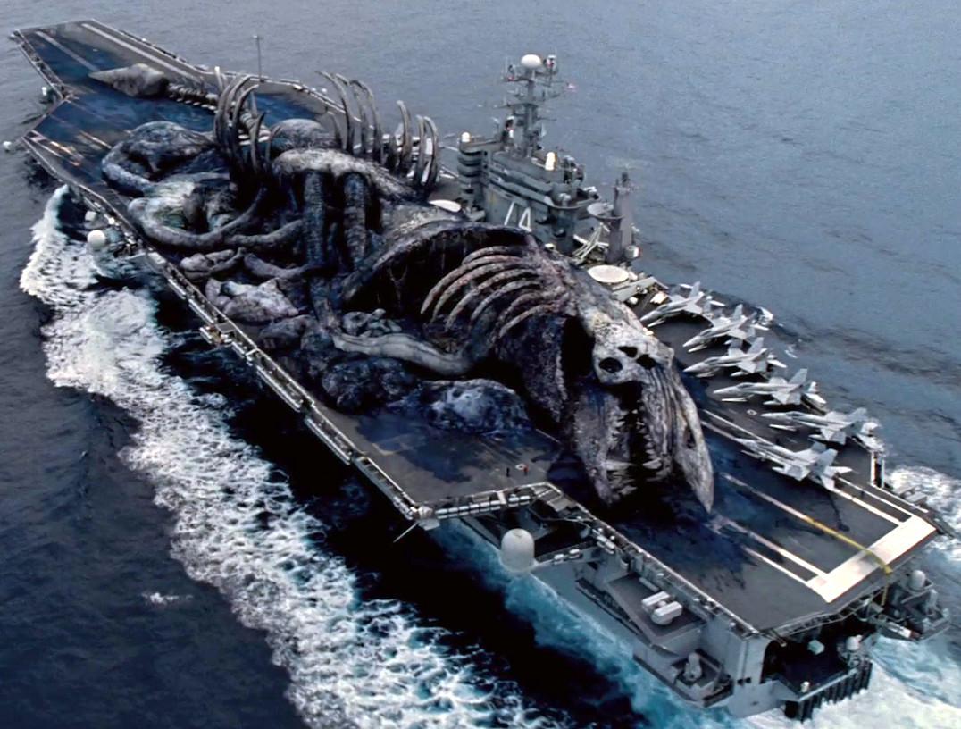 Pacific Rim kaiju skeleton