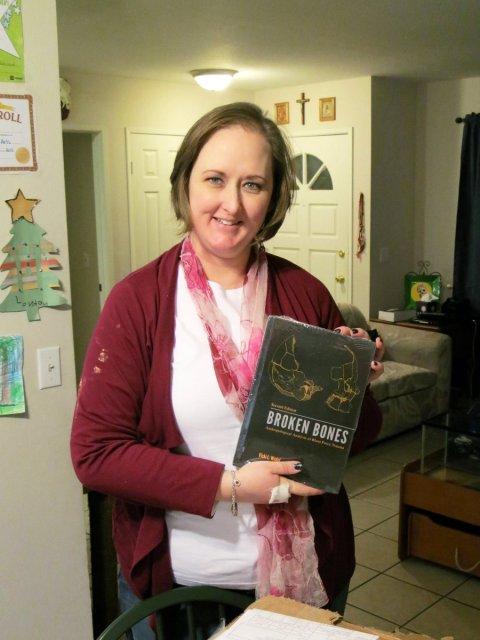 Vicki book arrival 3