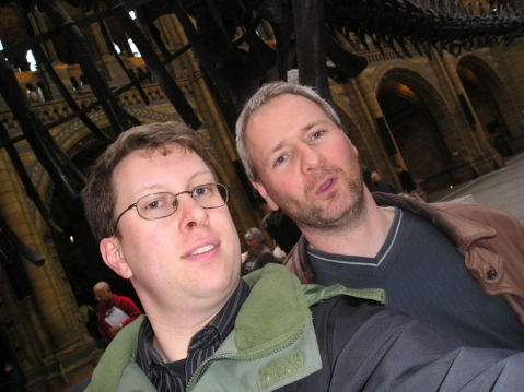 Darren & Mike with Dippy
