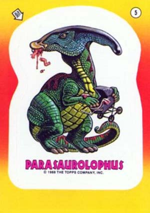 Topps - da baby eating sticker