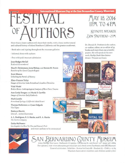 SCBM festival of authors 2014