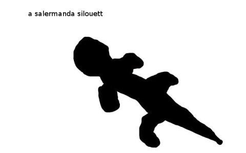 salamander-silhouette