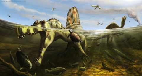 Spinosaurus KemKem - Brian Engh