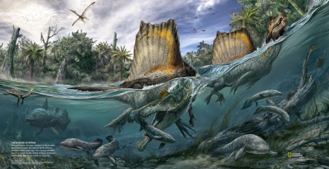 Spinosaurus - Nat Geo