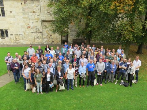 Official conference photo, SVPCA 2014, York, UK.