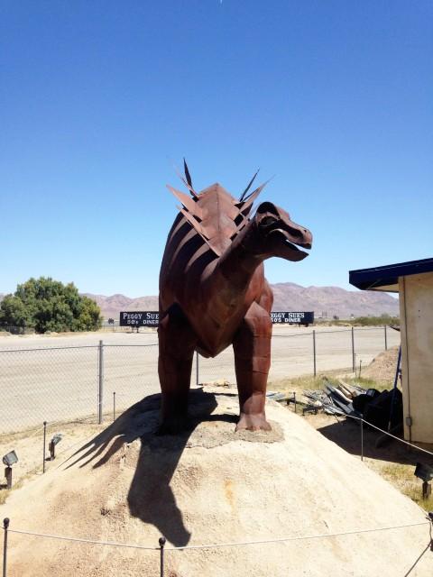 Peggy Sue's Diner-saurs - stegosaur