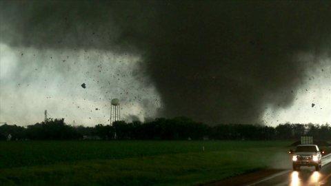 tornado debris