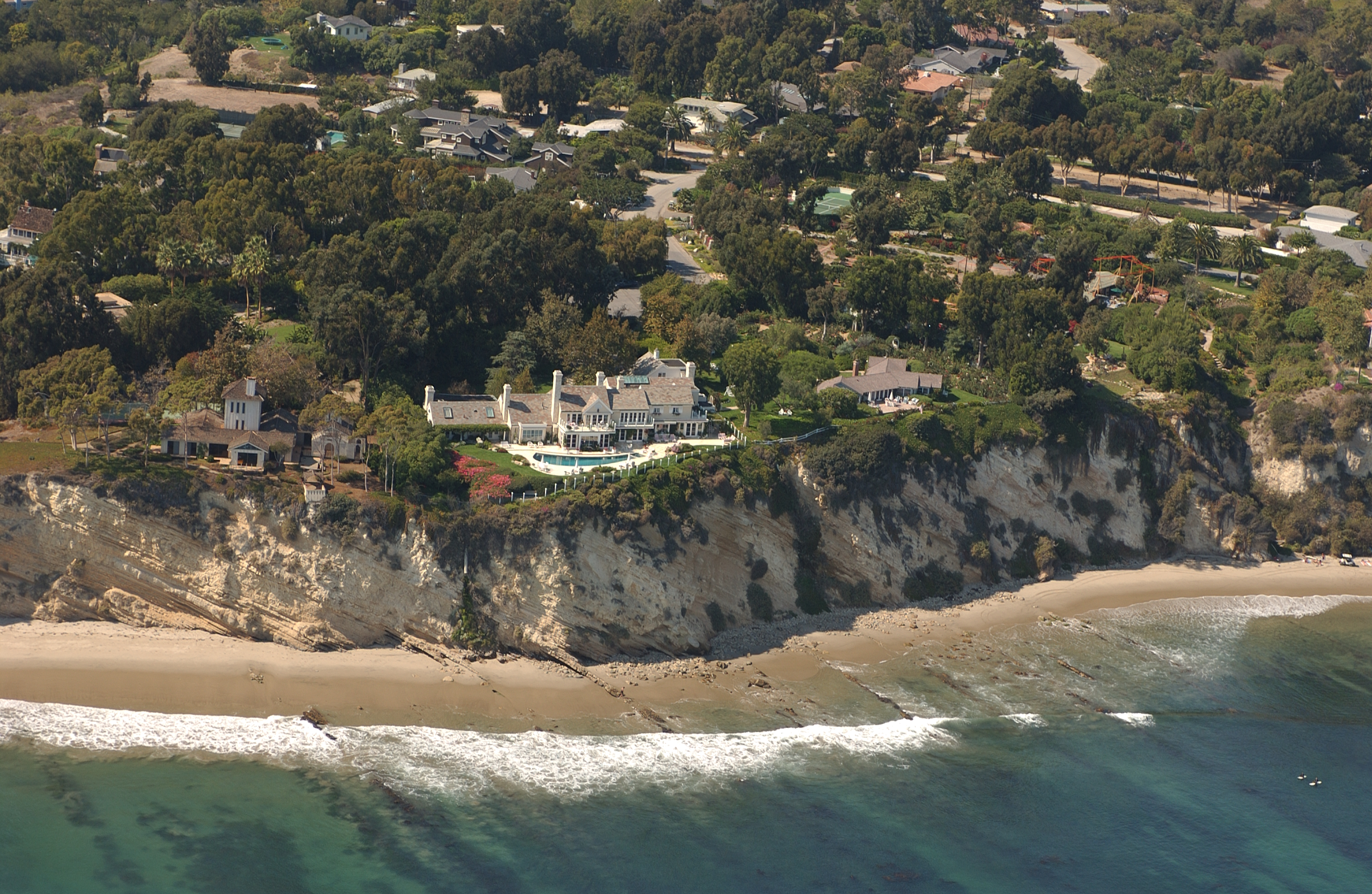Streisand Estate Malibu